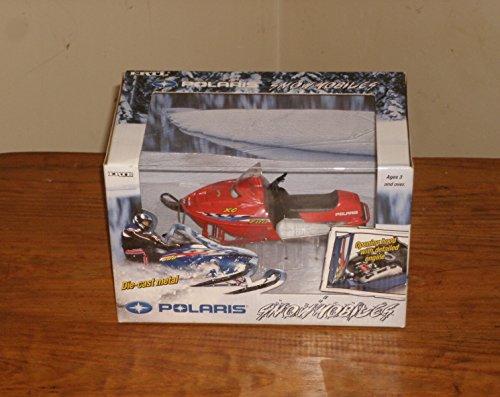 Polaris 1:18 Scale Die-cast Snowmobile XC 700 (Red) (Polaris Industries Snowmobiles)