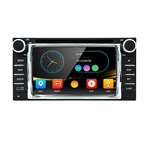 Car DVD Player GPS Navigation For TOYOTA Corolla Hilux Vios Zelas2011 Matrix Previa Prado Land Cruiser FJ Carmy 4runner Fortuner Land Cruiser100 series (Toyota Yaris Dvd compare prices)