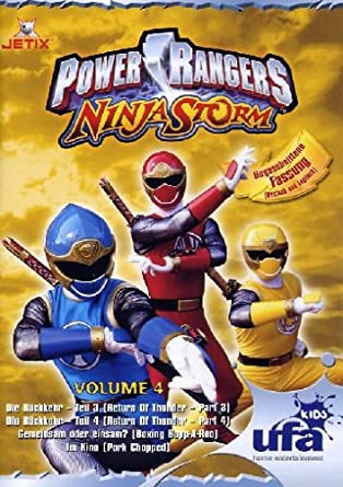 Power Rangers - Ninja Storm 04, Folgen 12-15 Alemania DVD ...