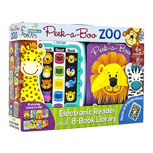 - Me Reader Jr Peek-a-Boo Zoo: Electronic Reader and 8-Book Library