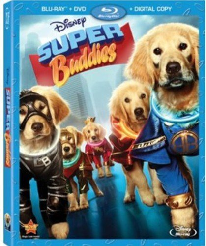 Super Buddies (Blu-ray + DVD + Digital -