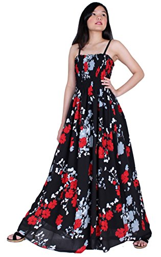 [MayriDress Maxi Dress Plus Size Clothing Black Ball Gala Party Sundress Designer (4X-Long 57 inch, Black/ Red Grey] (Plus Size Formal Dresses)