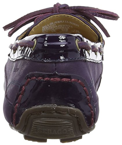 Mocasines Bala Purple Sebastian Dark Leather Patent Mujer HgwxqC5