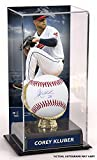 Corey Kluber Cleveland Indians Autographed Baseball and Gold Glove Display Case with Image - Fanatics Authentic Certified