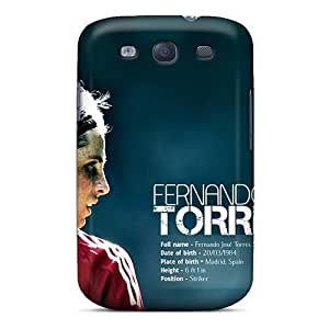 JudfNld8516Kfazh Anti-scratch Case Cover Saraumes Protective The Football Player Of Chelsea Fernando Torres Case For Galaxy S3