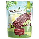 Organic Adzuki Beans by Food to Live (Kosher) — 1 Pound