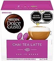 NESCAFÉ Dolce Gusto Cápsulas Chai Tea Latte (16 cápsulas/8 Tazas)