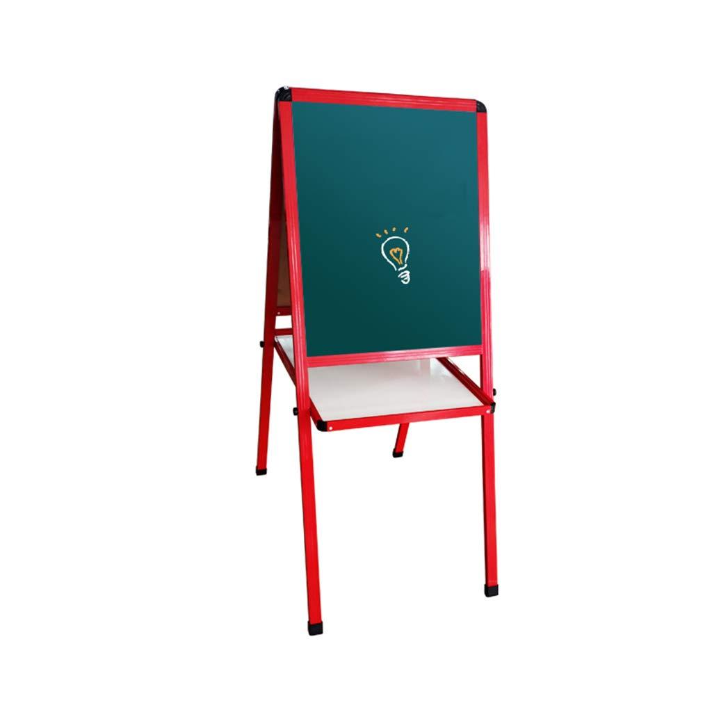 絵画ボード - 子供の描画ボード両面磁気小型黒板ブラケット絵画ボード   B07RX5KQ8P