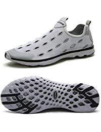 Men's Mesh Slip On Water Shoes Casual Walking Shoes