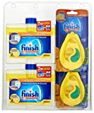 Finish Dishwasher Freshener and Cleaner Multipack