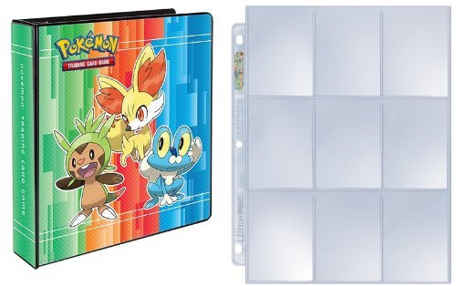 Ultra Pro 3-Ring Pokemon X & Y Album with 25 Platinum 9-Pocket Pages
