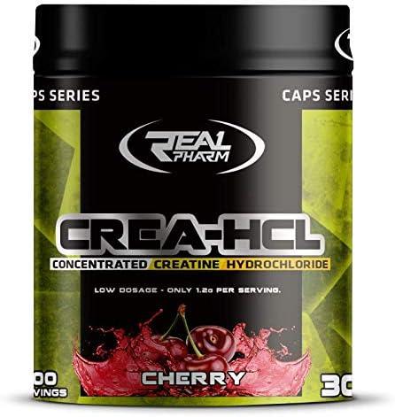 Real Pharm Crea HCL Creatin Kreatin Hydrochlorid - 250g (Orange)