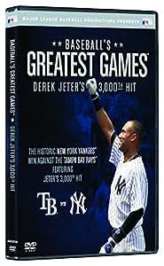 Baseball's Greatest Games: Derek Jeter's 3,000th Hit [DVD]