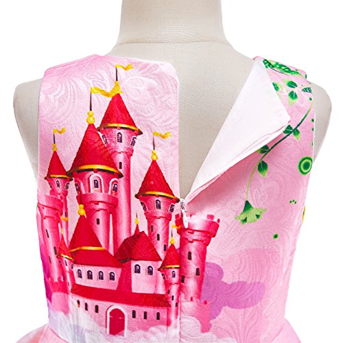 Dressy Daisy Girls My Little Pony Dress Costumes Unicorn Costumes Fancy Dress up Size 6 Pink FC127 by Dressy Daisy (Image #4)