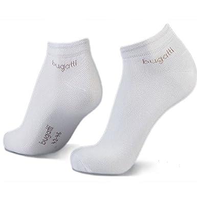 Bugatti Mens Sneaker Socks 3er Pack 6765 545 dark navy Strumpf Socke  Füsslinge (Weiss - cc4f9f387a