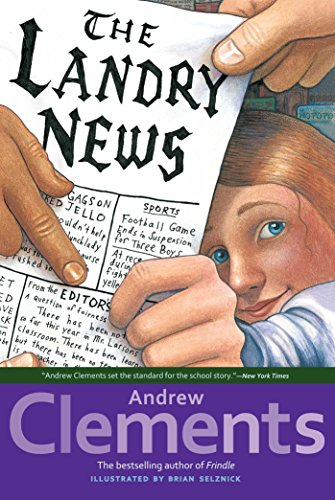 The Landry News by [Clements, Andrew]