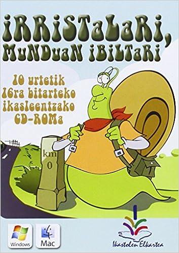 Descargar torrent de libros electronicos (cd-Rom) Irristalari, Munduan Ibiltari (Testuliburu Berriak) in Spanish PDF DJVU 8477036500