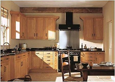 CK Kitchens Hamble Natural Oak (Burbidge Range) Kitchen Units U0026 Doors Rigid  Built Kitchens