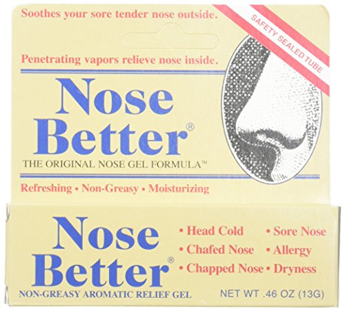 Aromatic Nose Ointment - Hyland's Homeopathic Nose Better Non Greasy Aromatic Relief Gel, (Pack Of 2)