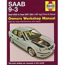 Saab 9-3 (02 - 06) (Service & repair manuals) by A K Legg (2008-08-31)
