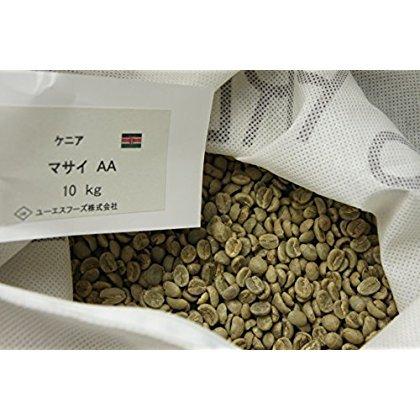 Kenya Masai AA [US] premium green coffee beans gram sale (800g) by US Premium