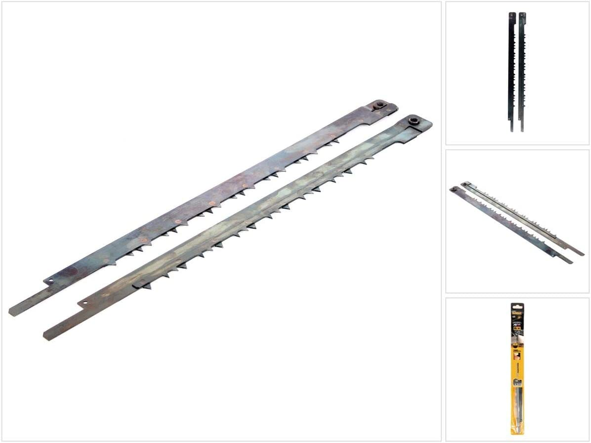 0 V 0 W Dewalt DT99593-QZ Hoja de sierra Alligator HSS de 430 mm de longitud para madera dura