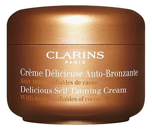 Clarins Delicious Self Tanning Cream,4.5 (Tinted Self Tanning Cream)