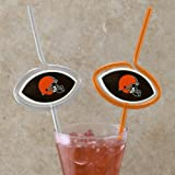 Cleveland Browns Team Sipper Straws