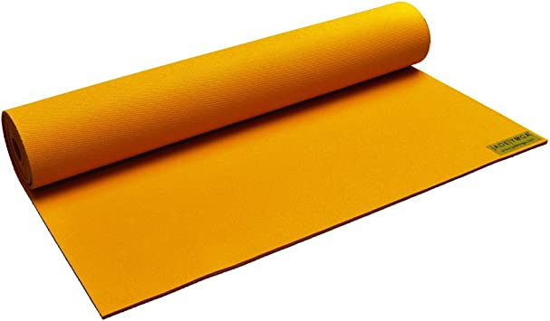 Amazon.com : JadeYoga Saffron Mat - Limited Edition : Sports ...