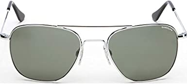 Randolph Engineering Aviator Skull//Bayonet Men/'s Sunglasses w// Glass Lens