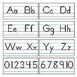 TREND enterprises, Inc. T-1858 Basic Alphabet Zaner-Bloser Manuscript Bulletin Board Set