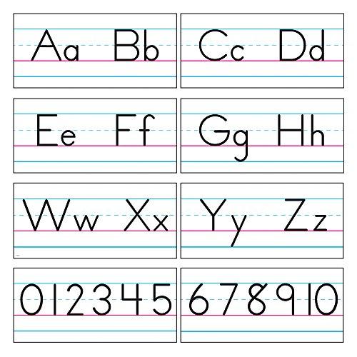 Photo Manuscript Style Alphabet - TREND enterprises, Inc. T-1858 Basic Alphabet Zaner-Bloser Manuscript Bulletin Board Set