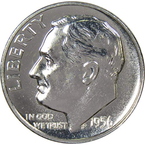 1956 10c Roosevelt Silver Dime Choice Proof