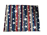 Elrene Americana Star and Striped Printed Vinyl Tablecloth Review and Comparison