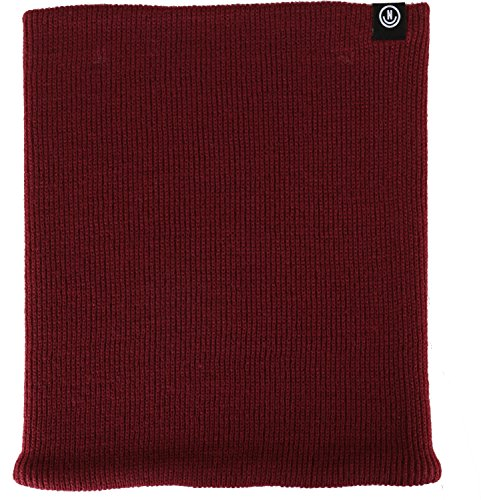 - neff Men's Serge Neck Gaiter-Ski & Snowboard Facemask for Winter, Maroon, One Size