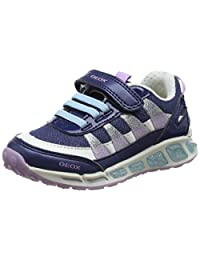 Geox Girls' Shuttle Running Shoe