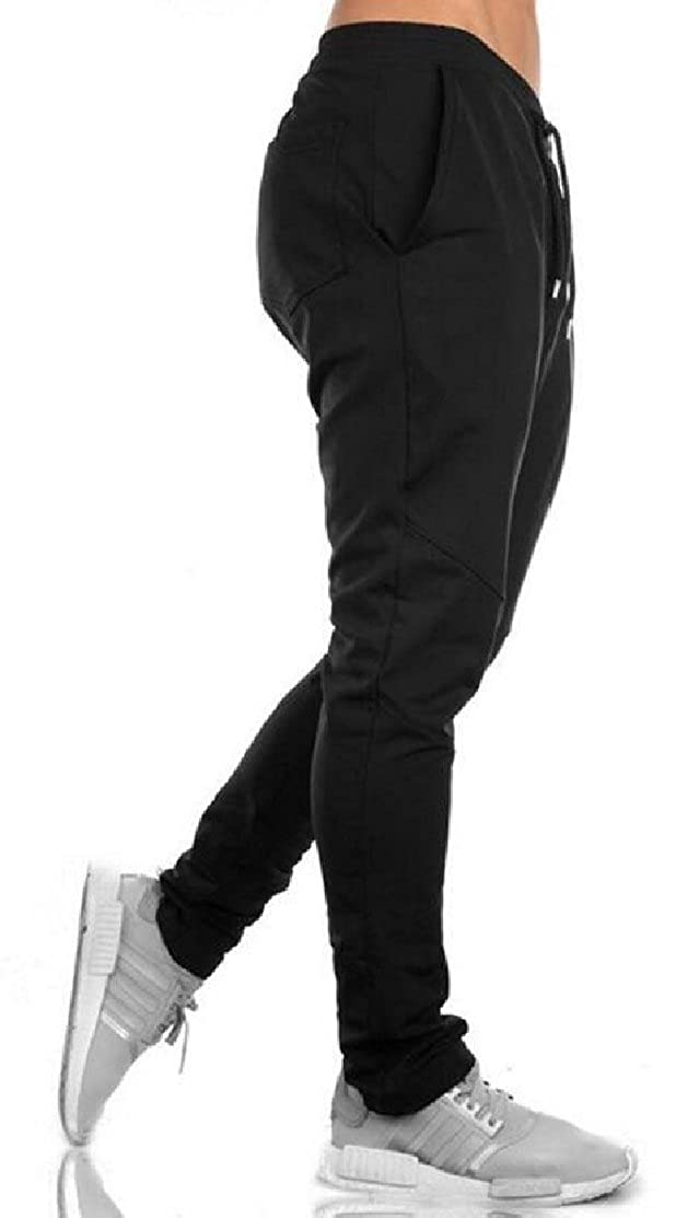 XQS Mens Casual Jogger Pants Running Sports Track Pants Workout Training Sweatpants