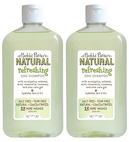 Refreshing Natural (Bobbi Panter Natural Refreshing Dog Shampoo, 14-Ounce (2-Pack))