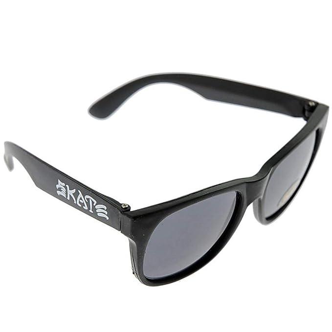 f38c6482af THRASHER Skate & Destroy Beer Black Gafas de sol: Amazon.es: Ropa y ...
