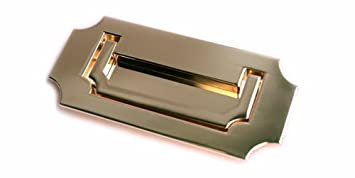 Incroyable Campaign Furniture Recessed Hardware Pulls (brass)