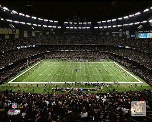 "Mercedes-Benz Superdome New Orleans Saints Stadium Photo (11"" x 14"")"