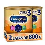 Enfagrow Premium Etapa 3 - Leche de Crecimiento para Niños mayores de 12 Meses,  En Polvo, Paquete especial con 2 latas de 800 gramos cada una, el empaque puede variar
