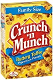 12oz popcorn supplies - Crunch N Munch Toffee Popcorn, Family Size, 12-Ounce Boxes (Pack of 12)