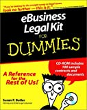 E-Business Legal Kit for Dummies, Susan P. Butler, 0764552651