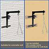 Yes4All Wall Mount Heavy Bag Hanger with Heavy