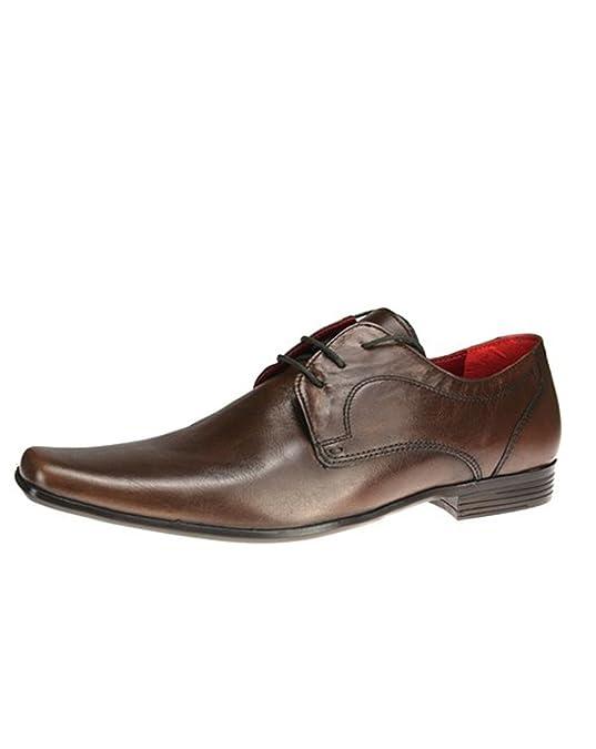 Red Tape Kingston Marron Pour Homme en Cuir Formelle Chaussures - Marron -  Marron, 42 EU: Amazon.fr: Chaussures et Sacs