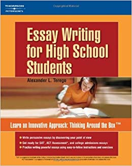 essay writing for high school students petersons guides