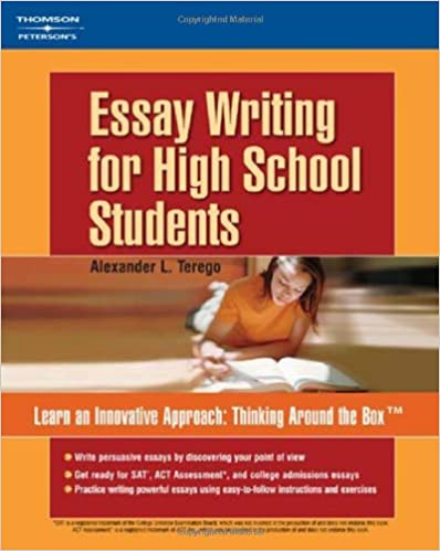 Amazoncom Essay Writing For High School Students   Amazoncom Essay Writing For High School Students   Alexander L Terego Books Definition Essay Paper also High School Persuasive Essay Examples  Reflection Paper Essay