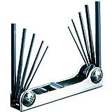 ホーザン(HOZAN) アーレンキー キーレンチ 六角レンチセット 10本組 対辺サイズ:1.27/1.5/1.6/2/2.4/2.5/3/3.2/4/4.8mm W-98