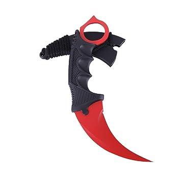 Amazon.com: Charque Karambit Cuchillo de bolsillo, Tracffy ...